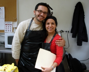 Con José Ramón Castillo