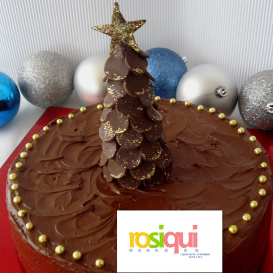 Pastel doble chocolate