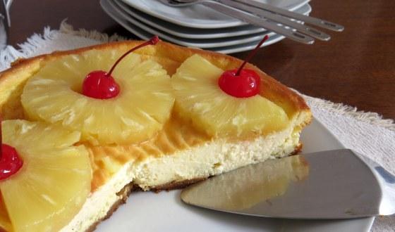 Cheesecake piña colada