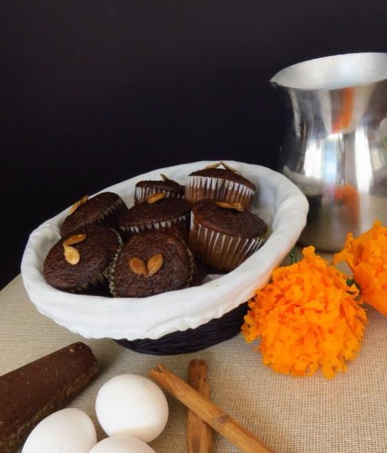 Cupcakes calabaza en tacha