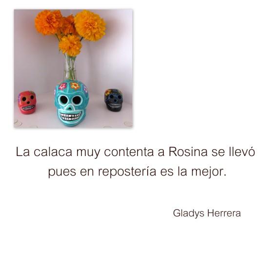 Calavera Gladys Herrera